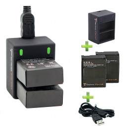 GoPro HD Hero3 USB Cable Charger Kit and  Battery