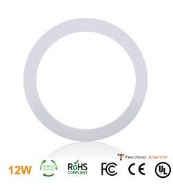 Dimmable Ceiling Panel Led Ultra Thin 12W Round - Natural White