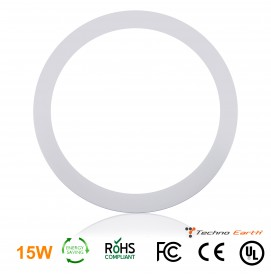 Dimmable Ceiling Panel Led Ultra Thin 15W Round - Cool White