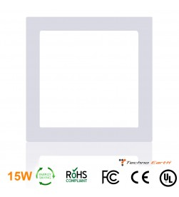 Dimmable Ceiling Panel Led Ultra Thin 15W Square - Warm White