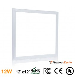 Ultra Thin Glare-Free Edge-Lit LED LIGHTS PANEL - 12x12
