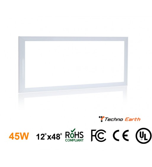 Ultra Thin Glare-Free Edge-Lit LED LIGHTS PANEL - 12x48
