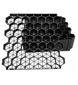Permeable Grass Paving Grid - Black