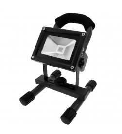 Portable  Cordless Rechargeable Led  Light - Black
