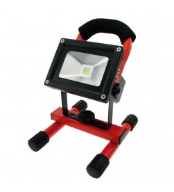 Portable  Cordless Rechargeable Led  Light - Red